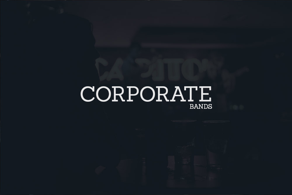 Live Covers Band - Corporate Bands
